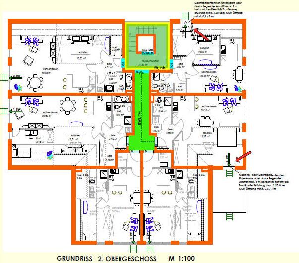 Brandschutz in mehrfamilienhäusern